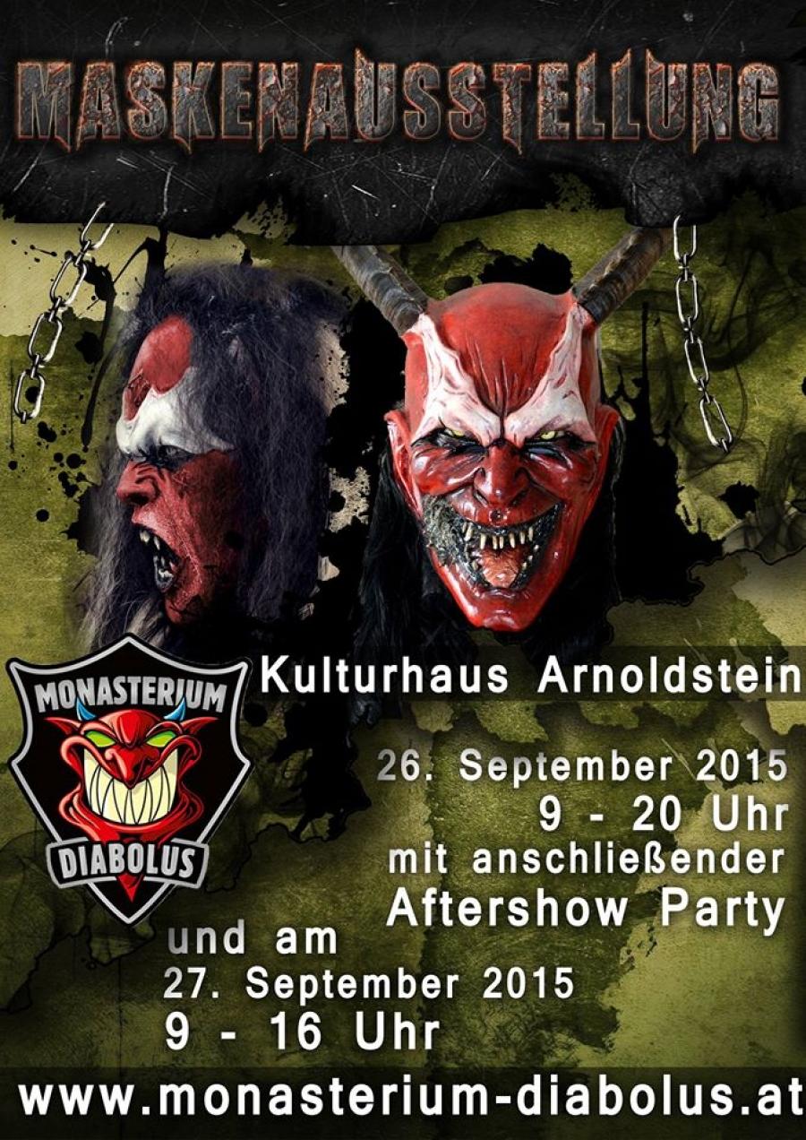 Maskenausstellung im Kulturhaus Arnoldstein